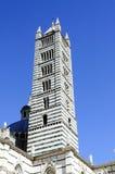 Σιένα - πύργος του καθεδρικού ναού του ST Mary στοκ εικόνα με δικαίωμα ελεύθερης χρήσης