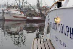 ΣΙΑΤΛ, WA - 28 ΟΚΤΩΒΡΊΟΥ 2017: Τερματικό ψαράδων ` s Στοκ φωτογραφία με δικαίωμα ελεύθερης χρήσης