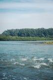 Σιβηρικός τραχύς ποταμός Στοκ εικόνα με δικαίωμα ελεύθερης χρήσης