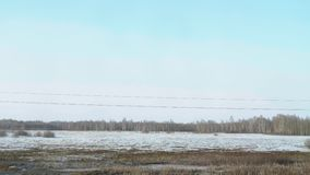 Σιβηρικό τοπίο άνοιξη