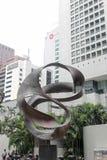 Σιγκαπούρη - 10 Αυγούστου 2013: Άγαλμα στη Σιγκαπούρη Στοκ φωτογραφίες με δικαίωμα ελεύθερης χρήσης