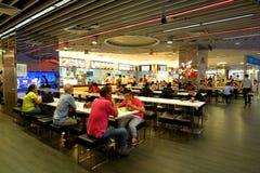 Σιγκαπούρη: Δικαστήριο τροφίμων Στοκ φωτογραφίες με δικαίωμα ελεύθερης χρήσης
