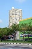 Σιγκαπούρη, εικονική παράσταση πόλης Στοκ φωτογραφία με δικαίωμα ελεύθερης χρήσης