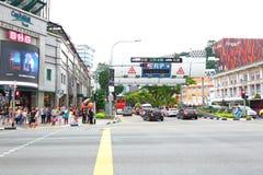 Σιγκαπούρη: Ηλεκτρονική οδική τιμολόγηση στοκ φωτογραφίες με δικαίωμα ελεύθερης χρήσης