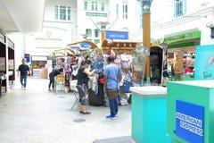 Σιγκαπούρη: Λεωφόρος αγορών Στοκ Εικόνα