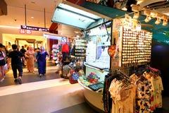 Σιγκαπούρη: Λεωφόρος αγορών Στοκ Φωτογραφία