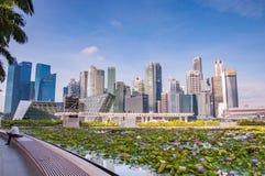 12.2016 Σιγκαπούρη-Μαρτίου Στοκ εικόνες με δικαίωμα ελεύθερης χρήσης