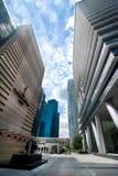 Αστικό τοπίο της Σιγκαπούρης Στοκ Εικόνες