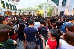 Σιγκαπούρη: Eric Zhou Στοκ εικόνες με δικαίωμα ελεύθερης χρήσης