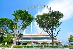 Σιγκαπούρη Flayer η γιγαντιαία ρόδα Ferris Στοκ φωτογραφίες με δικαίωμα ελεύθερης χρήσης