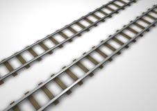 σιδηροδρομικές γραμμές απεικόνιση αποθεμάτων