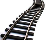 σιδηροδρομική γραμμή Στοκ Εικόνα