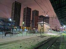 Σιδηροδρομικός σταθμός στοκ φωτογραφίες