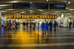 Σιδηροδρομικός σταθμός στο Μπέρμιγχαμ, Ηνωμένο Βασίλειο στοκ εικόνες με δικαίωμα ελεύθερης χρήσης