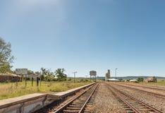 Σιδηροδρομικός σταθμός στο χωριό της Μασσαλίας στην ελεύθερη κρατική επαρχία Στοκ φωτογραφία με δικαίωμα ελεύθερης χρήσης