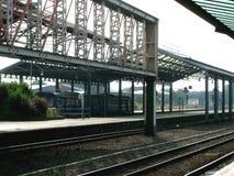 σιδηροδρομικός σταθμός Στοκ Εικόνες