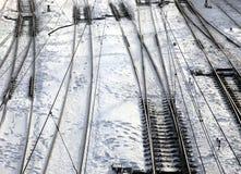 σιδηροδρομικός σταθμός Στοκ Εικόνα