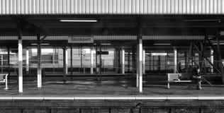 σιδηροδρομικός σταθμός Στοκ φωτογραφίες με δικαίωμα ελεύθερης χρήσης