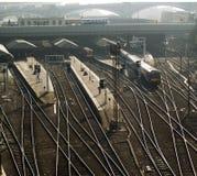 σιδηροδρομικός σταθμός στοκ φωτογραφία