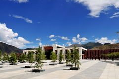 σιδηροδρομικός σταθμός lhasa Στοκ εικόνα με δικαίωμα ελεύθερης χρήσης