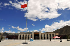 σιδηροδρομικός σταθμός lhasa Στοκ φωτογραφία με δικαίωμα ελεύθερης χρήσης