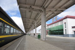 σιδηροδρομικός σταθμός nag Στοκ Φωτογραφία