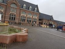Σιδηροδρομικός σταθμός Roosendaal στοκ φωτογραφία με δικαίωμα ελεύθερης χρήσης
