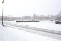 Σιδηροδρομικός σταθμός Selo Tsarskoe Στοκ Φωτογραφία