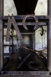 Σιδηρουργείο με το χυτοσίδηρο στοκ φωτογραφίες με δικαίωμα ελεύθερης χρήσης