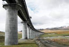 σιδηρόδρομοι Θιβετιανός Στοκ φωτογραφία με δικαίωμα ελεύθερης χρήσης