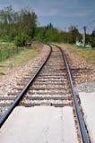 Σιδηρόδρομοι στη φύση Στοκ Φωτογραφίες