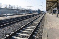 σιδηρόδρομοι Στοκ φωτογραφία με δικαίωμα ελεύθερης χρήσης