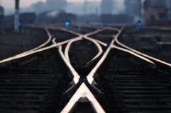 σιδηρόδρομος αυγής Στοκ εικόνες με δικαίωμα ελεύθερης χρήσης