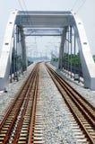 σιδηρόδρομος γεφυρών Στοκ Φωτογραφία