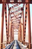 σιδηρόδρομος γεφυρών Στοκ εικόνα με δικαίωμα ελεύθερης χρήσης