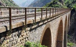 σιδηρόδρομος γεφυρών Στοκ Εικόνες