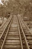 σιδηρόδρομος γεφυρών Στοκ εικόνες με δικαίωμα ελεύθερης χρήσης
