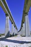 σιδηρόδρομος γεφυρών Στοκ φωτογραφία με δικαίωμα ελεύθερης χρήσης