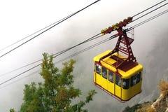 σιδηρόδρομος καλωδίων Στοκ Φωτογραφίες