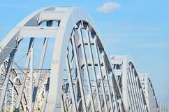 σιδηρόδρομος λεπτομέρειας γεφυρών Στοκ Εικόνες
