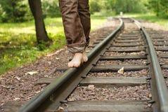 σιδηρόδρομος ποδιών στοκ εικόνες με δικαίωμα ελεύθερης χρήσης