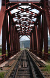 σιδηρόδρομος Σιβηριανός δια Στοκ φωτογραφία με δικαίωμα ελεύθερης χρήσης