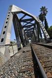 σιδηρόδρομος σιδήρου γεφυρών Στοκ φωτογραφίες με δικαίωμα ελεύθερης χρήσης