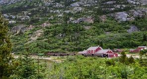 Σιδηρόδρομος στο Yukon Στοκ εικόνες με δικαίωμα ελεύθερης χρήσης