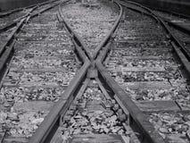 σιδηρόδρομος συνδέσεων Στοκ φωτογραφίες με δικαίωμα ελεύθερης χρήσης