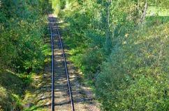 Σιδηρόδρομος τσέχικα Στοκ Εικόνες