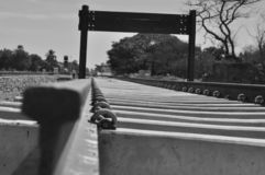 σιδηρόδρομος στοκ φωτογραφία με δικαίωμα ελεύθερης χρήσης