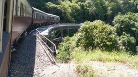 Σιδηρόδρομος Kyuranda Στοκ Εικόνες