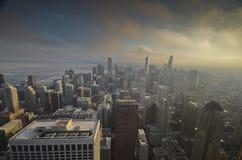 Σικάγο άνωθεν στοκ φωτογραφία με δικαίωμα ελεύθερης χρήσης