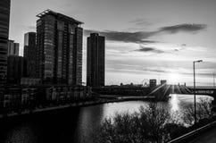 Σικάγο γραπτό στο λιμάνι στοκ φωτογραφίες
